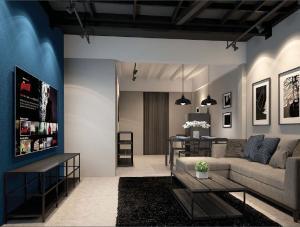 เช่าตึกแถว อาคารพาณิชย์บางซื่อ วงศ์สว่าง เตาปูน : ห้องพักสุดชิคสไตล์ Duplex