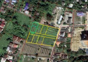 For SaleLandPinklao, Charansanitwong : Land for sale 151 square wah, Phutthamonthon Sai 1 Road