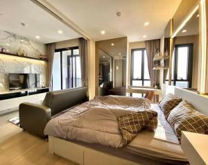For RentCondoSukhumvit, Asoke, Thonglor : 💕 For rent, beautiful condo, high floor, new box, Ashton Asoke, 1 bedroom, 34 sq m, high floor view, open to move in