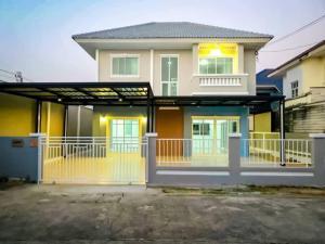ขายบ้านบางใหญ่ บางบัวทอง ไทรน้อย : ขายด่วน บ้านเดี่ยว2ชั้น มบ.ปิยวรารมย์4 บ้านกล้วย-ไทรน้อย รีโนเวทใหม่ทั้งหลัง ราคา3,490,000฿