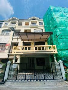 For RentTownhouseRama3 (Riverside),Satupadit : Townhome for rent 24 sq.w. 4 floors, 2 bedrooms, 4 bathrooms, Baan Klang Krung Village, Sathorn Yenakat, Rama 3 - ER-210099