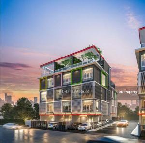 ขายตึกแถว อาคารพาณิชย์สุขุมวิท อโศก ทองหล่อ : ขายโฮมออฟฟิศ 5 ชั้น โครงการ Hallmark 2 Prestige เนื้อที่ 32.9 ตร.ว.สุขุวิท 64 ใกล้รถไฟฟ้า BTS ปุณณวิถี