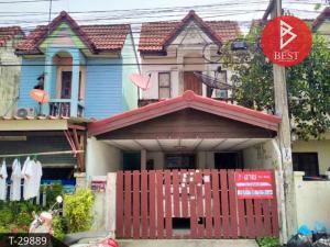 For SaleTownhouseRamkhamhaeng,Min Buri, Romklao : Townhouse for sale Wattana Rom Sai Village, Sangkasantisuk, Bangkok
