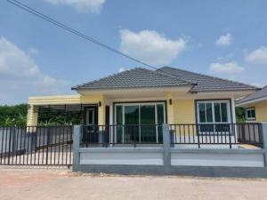 For SaleHouseRayong : House for sale, new building, Baan Sansuk 1, Nikhom Phatthana - Rayong, good location, cheap price