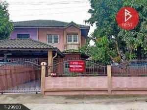 For SaleHouseRangsit, Patumtani : Twin house for sale, Makwan Rangsan Village, Rangsit-Khlong 10, Pathum Thani.