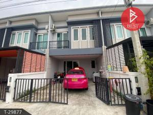 For SaleTownhouseBangbuathong, Sainoi : Townhome for sale, Chuan Chuen Village, Kanchana Town - Bang Yai, Nonthaburi
