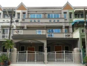 For SaleTownhouseChengwatana, Muangthong : 3-storey townhouse, Petchwattana Village, Pak Kret, Nonthaburi