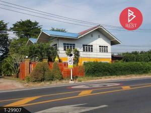 For SaleHouseRatchaburi : House for sale with business 1 rai 3 ngan 54.0 square meters Damnoen Saduak Ratchaburi