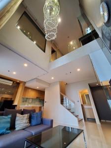 เช่าคอนโดพระราม 9 เพชรบุรีตัดใหม่ RCA : For rent ให้เช่าคอนโด Villa Asoke ห้อง Duplex 80 ตร.ม. ราคาดีมากกก