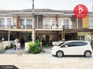 For SaleTownhousePattaya, Bangsaen, Chonburi : House for sale Amata Place Village, Chonburi, Don Hua Lo, Chonburi