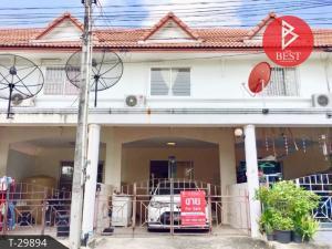 For SaleTownhousePattaya, Bangsaen, Chonburi : Townhouse for sale Ville Place Home Village, Sriracha, Chonburi