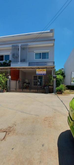 For SaleTownhouseChengwatana, Muangthong : 2-storey townhome for sale, The Exclusive Chaengwattana-Tiwanon project. Sukhaprachasan 2 Road, Soi Wat Ku Pak Kret