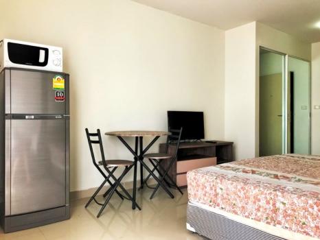 For RentCondoRama9, RCA, Petchaburi : Condo for rent I-House Laguna RCA, size 30 sqm., near MRT Rama 9 / MRT Phetchaburi, in the heart of the city, convenient transportation, fully furnished