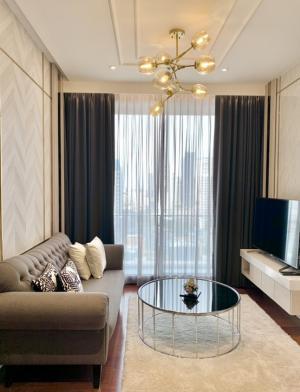 เช่าคอนโดสุขุมวิท อโศก ทองหล่อ : For Rent KHUN by YOO 50 sq.m. 1Bedroom 54,900/m. Fully Furnished. Nice view. High Floor