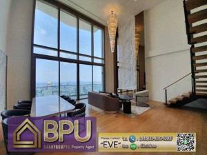 เช่าคอนโดวงเวียนใหญ่ เจริญนคร : ** River view Duplex Luxury unit for rent ** MagnoliasWaterfrontResidences next to Icon Siam