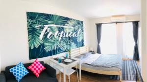 For RentCondoBangna, Bearing, Lasalle : FOR Rent Unio 72 8th Floor 22 Sqm.