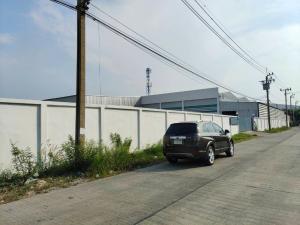 For RentFactorySamrong, Samut Prakan : Urgent rent, factory / warehouse building (renovated), area 5 rai, area 4,800 square meters, 3-phase electricity, near Bang Pu industrial estate, Khlong Khut-Bang Tamru Road, rental price 500,000 baht / m