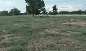 ขายที่ดินขอนแก่น : ขายที่ดินติดถนนลาดยางล้อมรั้วแล้วเรียบร้อยโฉนด 3 ใบ