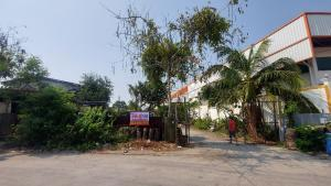 For RentLandRama 2, Bang Khun Thian : Land + warehouse for rent with rooms for rent workers. (Soi Thian Thale 30)