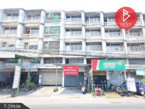 For SaleShophouseSamrong, Samut Prakan : Urgent sale, commercial building, area 21.0 square meters, Samrong, Samut Prakan