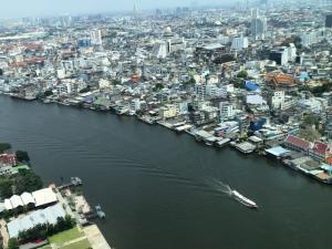 ขายคอนโดวงเวียนใหญ่ เจริญนคร : The best view !! Banyan Tree Residences Riverside Bangkok Bedroom : 2 ,Bathroom : 4 , Area :178.34 Sq.m. Selling price : 71,900,000