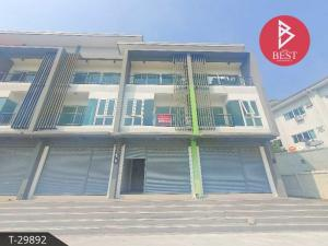 For SaleShophousePattaya, Bangsaen, Chonburi : 3-storey commercial building for sale, Panya Complex, Sriracha, Chonburi
