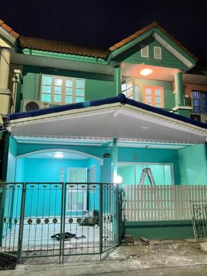 For SaleTownhouseBangbuathong, Sainoi : 🎉 2 storey townhouse for sale, Bua Thong 4, Wat Lat Pla Duk, Bang Yai