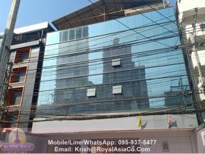 เช่าสำนักงานคลองเตย กล้วยน้ำไท : ให้เช่า:  อาคารพาณิชย์/สำนักงาน 5 ชั้น  สุขุมวิท-พระราม 4-คลองเตย