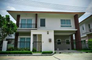 For SaleHouseNakhon Pathom, Phutthamonthon, Salaya : The Balanz salaya (The Balanz Salaya) new house, beautiful, ready to move in immediately, house name ARVE (SR) detached house