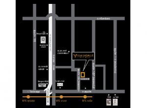 For RentCondoBangna, Lasalle, Bearing : Rent Condo Villa Lasalle, Sukhumvit 105, beautiful room, fully furnished, near BTS Bearing Station