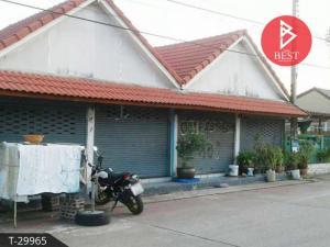 For SaleTownhouseMahachai Samut Sakhon : 2 storey townhouses for sale, Sukthavorn village, Samutsakhon island house