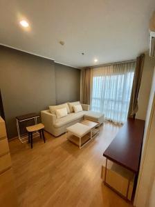 For SaleCondoOnnut, Udomsuk : Condo for sale # U-Delight @ OnnutStation # Big room, 2 bedrooms, 2 bathrooms, high floor # Pool view! (CA21-18)
