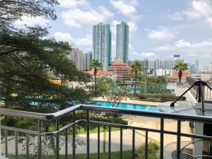 For RentCondoRama3 (Riverside),Satupadit : One bedroom condo for rent 56 sm2 opposite central rama3