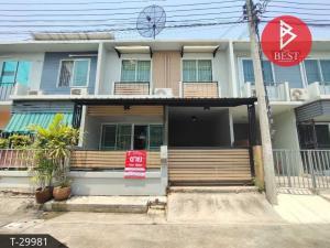 For SaleTownhouseBang Sue, Wong Sawang : 2 storey townhouse for sale, Moo Baan The Colors Premium Chaengwattana-Tiwanon, Nonthaburi.