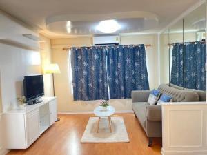 For SaleCondoRatchadapisek, Huaikwang, Suttisan : ⭐🚩 Sale‼ ️ Very nice corner room, Lumpini Ville Condo, LPN Ville Cultural Center (H1112)