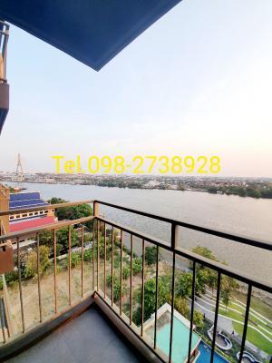 For RentCondoRama3 (Riverside),Satupadit : Available for rent at Riverfront u delight rama 3.