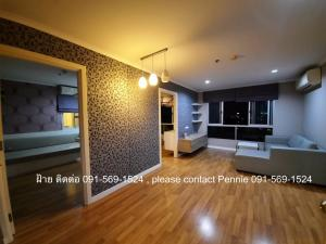 For RentCondoKasetsart, Ratchayothin : (Rent) Condo Lumpini Place Ratchayothin buildind  D, 8 floor ,  builted in room , city view. (2 bedrooms)