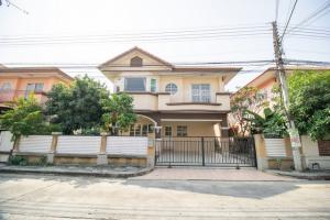 For SaleHouseAyutthaya : House for sale, Romruen Garden, Bang Pa-in intersection, beautiful house like a new hand.