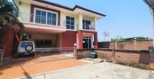 For SaleHouseRangsit, Patumtani : 2 storey detached house for sale, Chatluang Village 9, Rangsit-Pathumthani Road, Santisuk Intersection, Bang Pruak, Muang Pathum