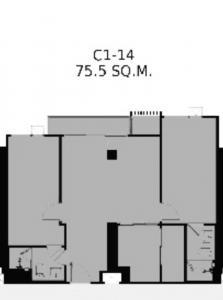 ขายคอนโดสาทร นราธิวาส : 🔥Rare item 🔥📌RHYTHM Charoenkrung Pavillion 2 Bed Size 75 Sq.m. 10.XX MB.ชั้น 30+++🔥Call/Line : 0990950009