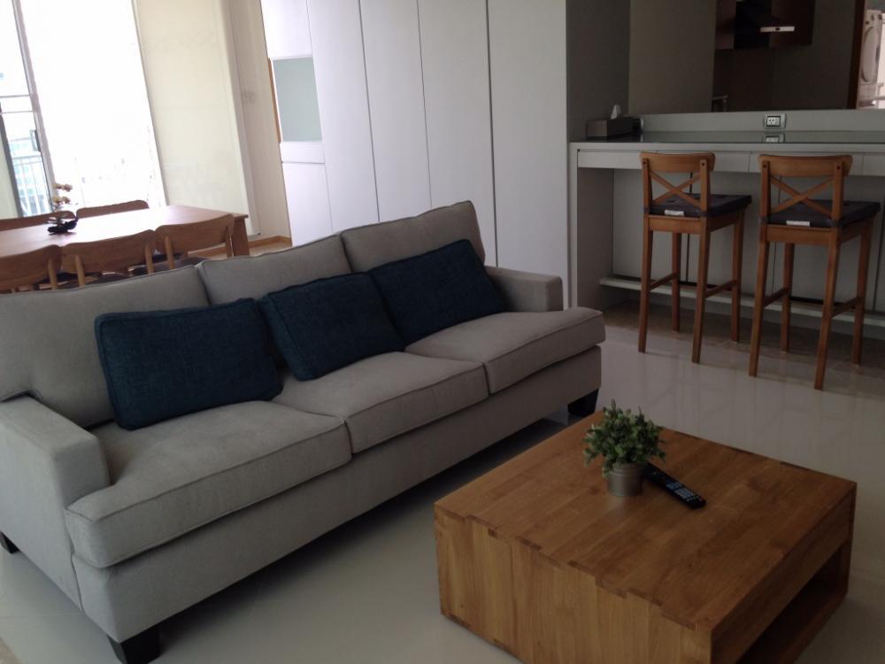 For RentCondoSathorn, Narathiwat : Empire Place 2-bedroom fully furnished for rent, near BTS Chongnonsi