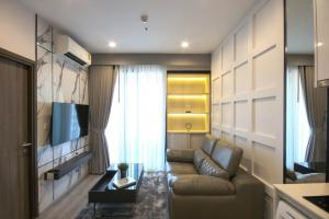 For RentCondoRama9, RCA, Petchaburi : 🚨IDEO MOBI ASOKE 🚨 Special price 17,000, new room, beautiful decoration : 1 bed 33 sq.m.