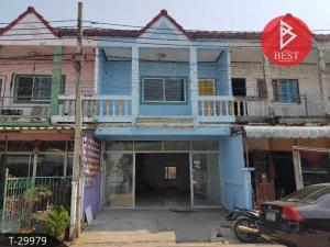 For SaleTownhouseSamrong, Samut Prakan : Townhouse for sale Phonchira Village, Bang Pu Municipality 103 Sukhumvit, Samut Prakan