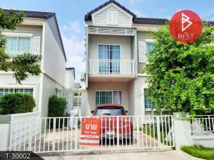 For SaleHouseSamrong, Samut Prakan : Twin house for sale the Village Bangna - Ring Road 3 Samut Prakan.
