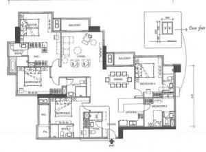 ขายคอนโดพระราม 9 เพชรบุรีตัดใหม่ : ขาย villa asoke type 5 bed 5 bath 25 Mb 📍