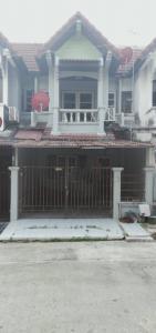 For SaleTownhouseRama 2, Bang Khun Thian : Townhouse for sale in good condition, very cheap, VK Home Tha Kham Village, Bang Khun Thian