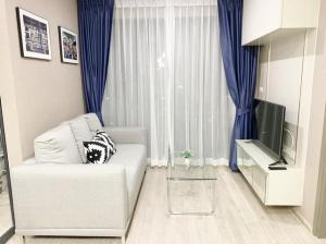 For RentCondoBangna, Lasalle, Bearing : Condo for rent, Ideo O2, size 46 sqm., 16th floor, T.091-091-0901 Nook.