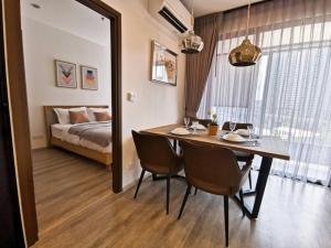 For RentCondoRama9, RCA, Petchaburi : 10829 Condo for rent, Ideo Mobi Asoke [Ideo Mobi Asoke] 2 Beds 2 bathrooms, 9th floor, 61.79 sq m. FH