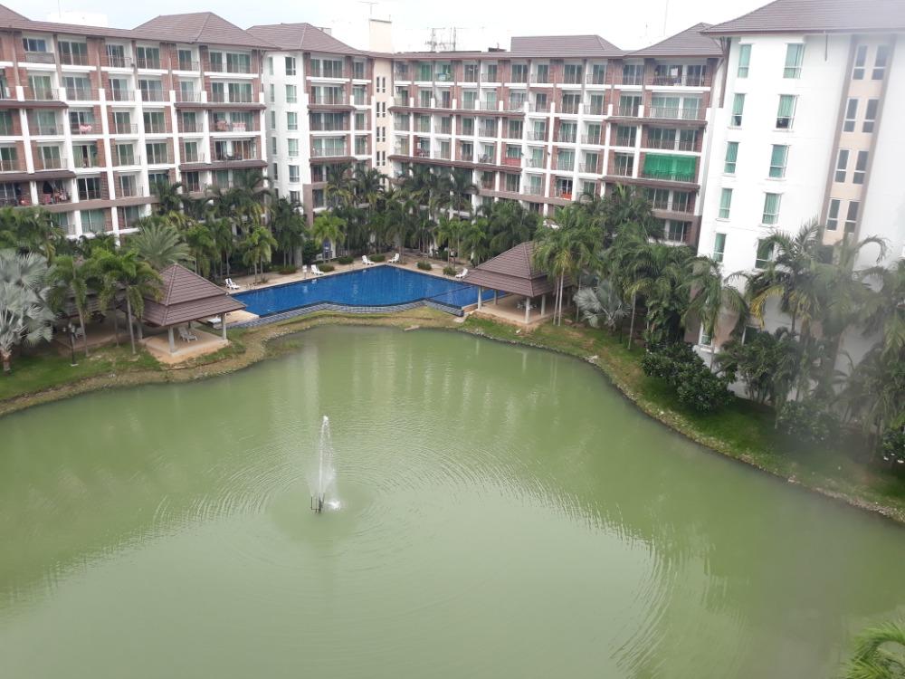For SaleCondoPattaya, Bangsaen, Chonburi : Condo for sale AD Bang Saray Lakes and Resort