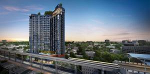 Sale DownCondoLadprao101, The Mall Bang Kapi : OwnerPost sell stars cheaper than Duo space project, size 34 .5 sqm. (One Bed Plus), 2 bedrooms, Rare Item Origin ladprao 111, Bangkapi Duo space, good 5 stars.